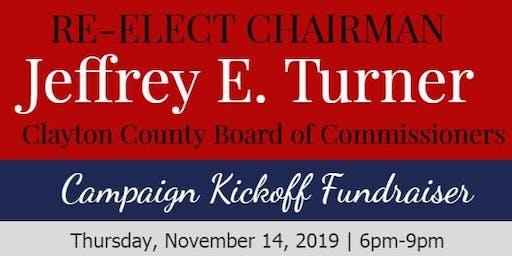 Chairman Jeffrey E. Turner Campaign Kickoff Fundraiser