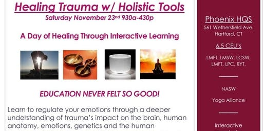 Healing Trauma w/ Holistic Tools