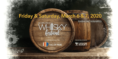 Winnipeg Whisky Festival 2020 tickets