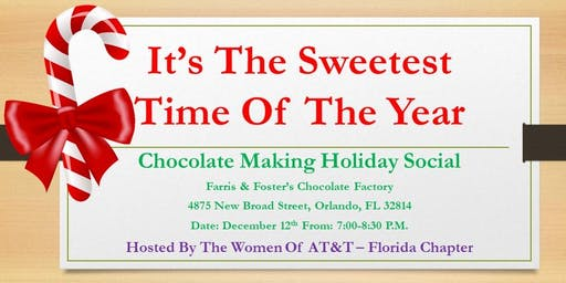 Women of AT&T Florida - Chocolate Factory Holiday Social - 2019