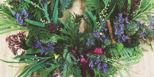 Christmas Wreath Workshop with In Bloom