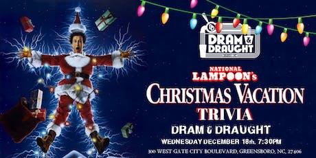 National Lampoon's Christmas Vacation Trivia at Dram & Draught tickets