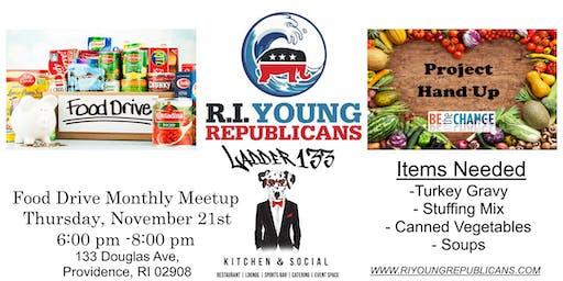 Young Republican Food Drive / Meetup
