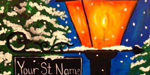 Sip and Paint at The Port Matilda American Legion