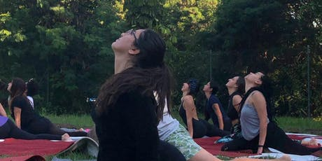 Aula Solidária Yoga for Syria no Centro de Tradições Veganas ingressos