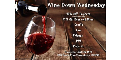 Wine Down Wednesdays! (2019-12-18 starts at 4:00 PM)