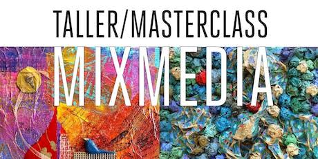 Taller Mix Media+expo+ concurso+ 2 Lotes Productos entradas