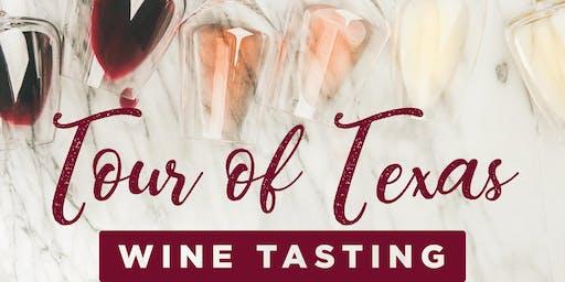 Tour of Texas Wine Tasting