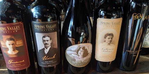 St Michelle Present's Spring Valley Vineyards Spotlight Tasting Event