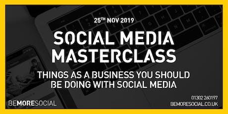 Be More Social - Social Media Masterclass tickets