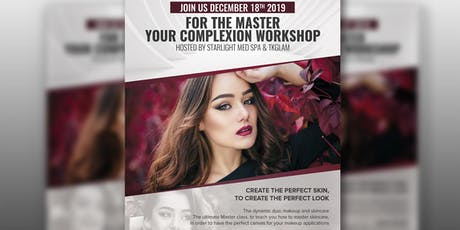 Master your complexion workshop  tickets