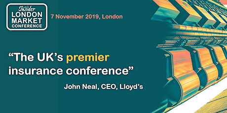 The London Market Conference 2020 Waitlist tickets