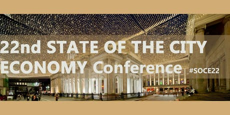 22nd State of the City Economy Conference tickets