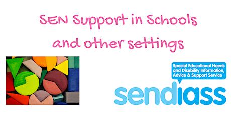 Bury SEN Support in Schools Workshop tickets