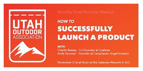 Utah Outdoor Association - Successfully Launch on Kickstarter/Social Media tickets