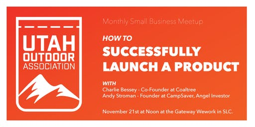 Utah Outdoor Association - Successfully Launch on Kickstarter/Social Media