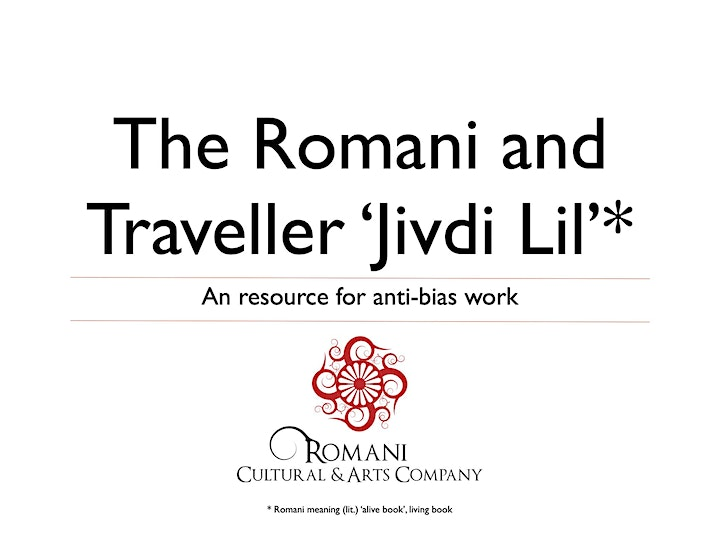 The Romani and Traveller 'Jivdi Lil' (Living Book) Training Day image