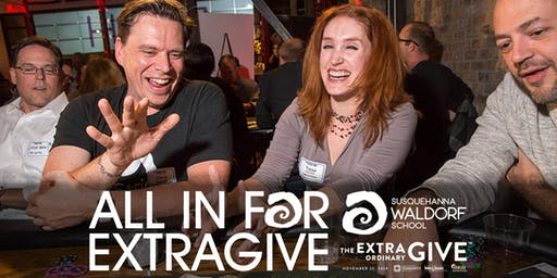 All In For ExtraGive 2019 - A Charity Poker Tournament