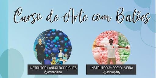 ARRIBA CURSO DE ARTE COM BALÕES