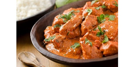 Indian Cooking: How To Make Butter Chicken and Paratha (04-04-2020 starts at 6:30 PM) tickets