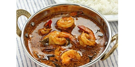 Secrets of healthy Indian Cooking: Coastal Shrimp Curry (03-14-2020 starts at 6:30 PM) tickets
