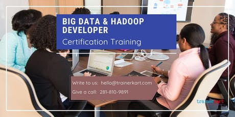 Big data & Hadoop Developer 4 Days Classroom Training in San Francisco Bay Area, CA tickets