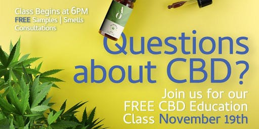FREE Hands On CBD Education & Experience! + FREE SAMPLES
