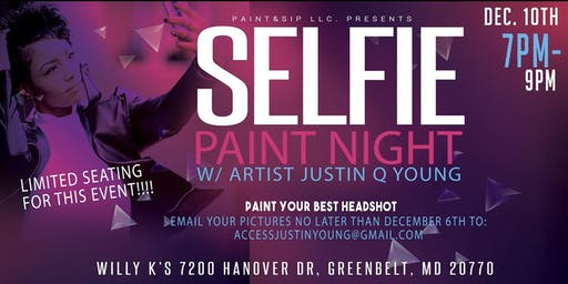 Selfie Paint Night (VIP)
