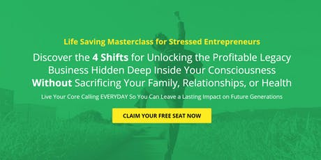 The 4 Shifts to Saving Your Business & Marriage (FREE ONLINE EVENT) tickets