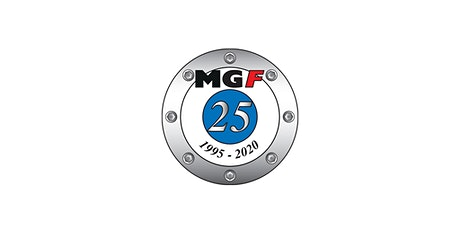 MGF Register 25th Anniversary tickets