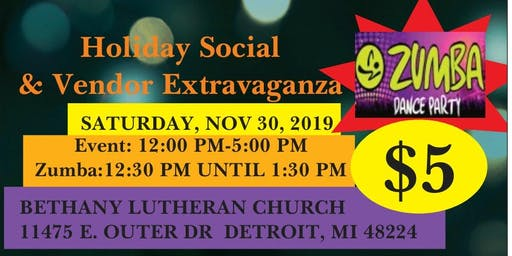 Zumba Party & Small Business Saturday Vendor Extravaganza