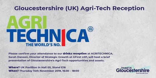 Gloucestershire (UK) Agri-Tech Reception