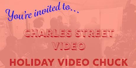 CSV Holiday Video Chuck 2019! tickets