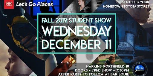 Colorado Film School Fall 2019 Student Show