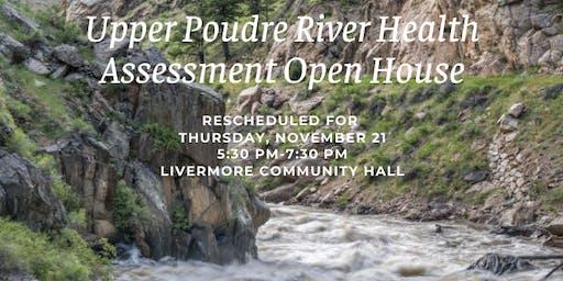 Upper Poudre River Health Assessment Open House