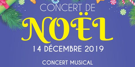 Concert de Noël du Centre Communautaire Restauration Vertical billets
