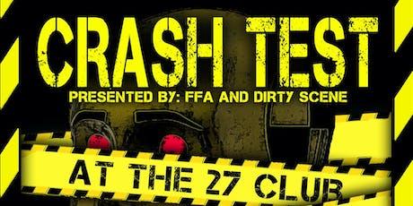 Crash Test tickets