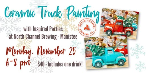 Brushes & Brews at North Channel Brewing Co