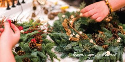 Christmas Wreath-Making with Bonnie Vaughn of Red Dirt Road Farm