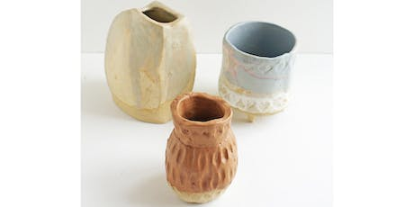 Pottery, Clay & Ceramic Workshops Part 1 - Three Week Course tickets