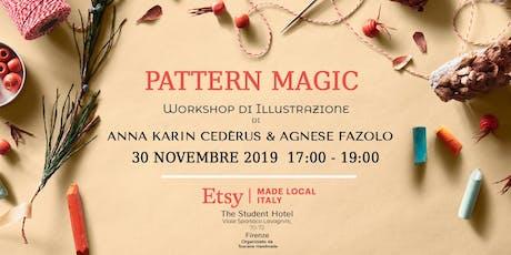 Pattern Magic - disegna il tuo pattern natalizio a mano biglietti