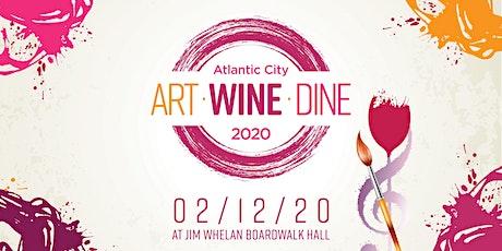 Art • Wine • Dine Atlantic City tickets