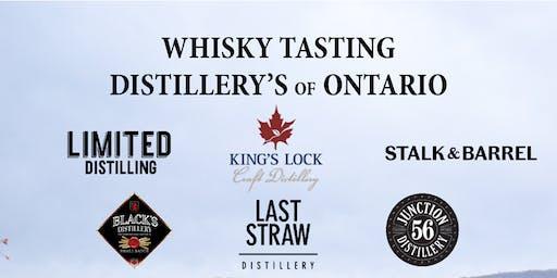 Whisky Tasting - Distilleries of Ontario