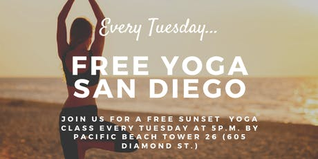 Free Yoga San Diego  tickets