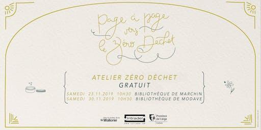 """Atelier """"zéro déchet"""" (Marchin)"""