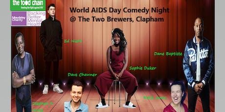 WORLD AIDS DAY  COMEDY NIGHT tickets