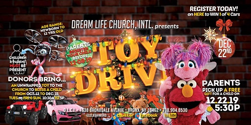 Toy Drive and The Spirit of Giving Christmas Service