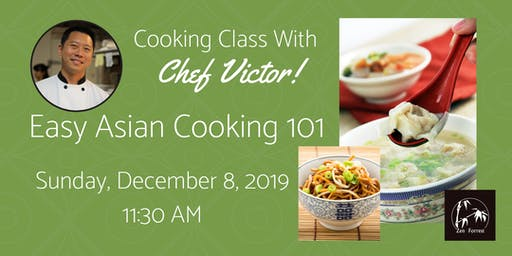 Cooking Class:  Wok With Chef - Easy Asian Cooking 101