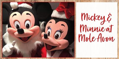 Minnie & Mickey Exclusive Christmas Meet & Greet At Mole Avon Crediton
