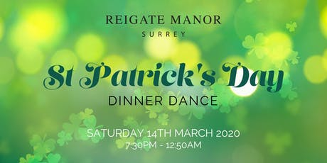 St Patrick's Day Dinner Dance tickets